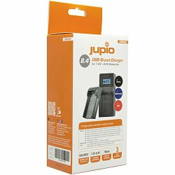 Jupio USB Brand Charger za JVC Samsung Sony 7.2V-8.4V baterije (LSO0038)