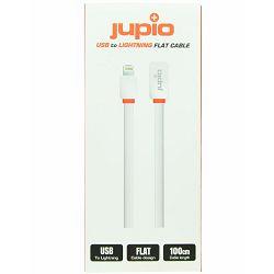 Jupio USB to Lightning Flat Cable WHITE 1M CAB0020