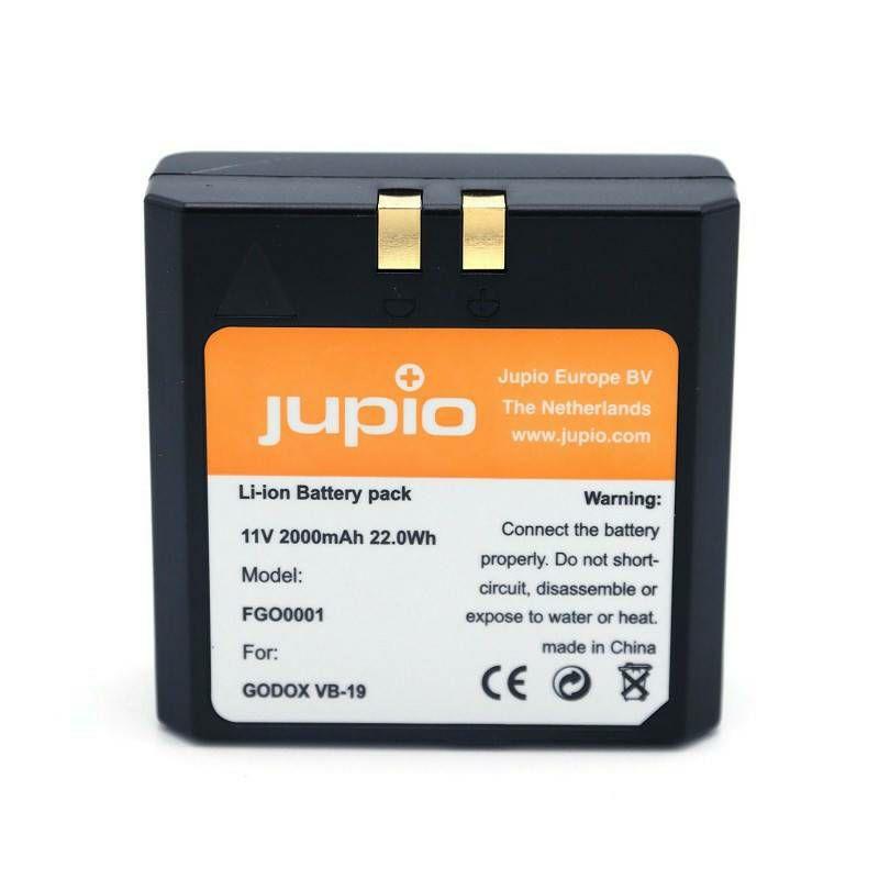 Jupio VB-18 VB-19 2000mAh baterija za Quadralite Stroboss 58, 60 i Godox V850, V860 VB18 VB19 (FGO0001)