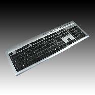 Keyboard LOGITECH UltraX Premium USB, Spill Resistant Design, Black, Bulk, 1pk