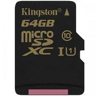 Kingston 64GB microSDXC CL10 UHS-I 90R/45W, EAN: 740617231328