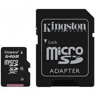 KINGSTON 64GB microSDXC Class 10 Flash Card Lifetime