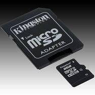 Memory ( flash cards ) KINGSTON NAND Flash Micro SD 4096MB x 1, 1pcs