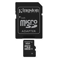 Kingston microSDHC, Class10, 8GB
