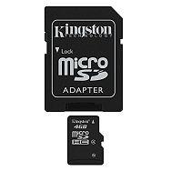 Kingston microSDHC, Class4, 4GB
