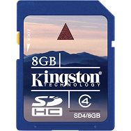 Kingston SDHC, Class4, 8GB
