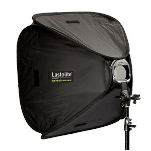 Lastolite Ezybox Hotshoe softbox 76 x 76cm + Bracket LL LS2480