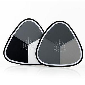 Lastolite Xpobalance 38cm Grey-White-Black LL LR1558 siva bijela karta za kalibraciju