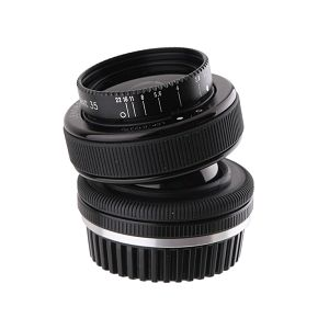 Lensbaby Composer Pro (Incl. Double Glass Optic) za Micro Four Thirds fotoaparat, LB-3U1M