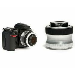 Lensbaby Scout + Fisheye Optic za Sony Alpha fotoaparat, LB-5S