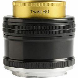 Lensbaby Twist 60 60mm f/2.5 portretni objektiv za Canon EF (LBT60C)