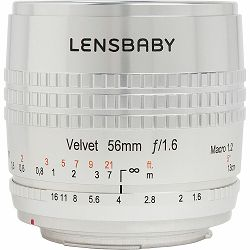 Lensbaby Velvet 56mm f/1.6 SE macro 1:2 portretni objektiv za Canon EF (LBV56SEC)