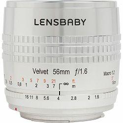 Lensbaby Velvet 56mm f/1.6 SE macro 1:2 portretni objektiv za Nikon F (LBV56SEN)