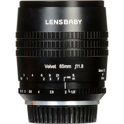 Lensbaby Velvet 85mm f/1.8 macro 1:2 portretni objektiv za Canon EF (LBV85C)