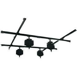 Linkstar Ceiling Rail System 3x3 m with 4 Pantographs sustav stropnih nosača za studijske bljeskalice i rasvjetu