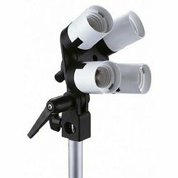 Linkstar Lampholder LH-4U + Umbrella Holder + Tilting Bracket adapter nosač za 4x E27 žarulje