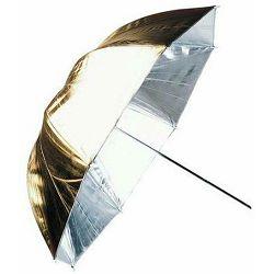 Linkstar Umbrella PUK-102GS Silver Gold 120cm (reversible) studijski foto kišobran