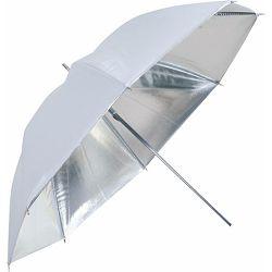 Linkstar Umbrella PUK-102SW Silver White 120cm (reversible) studijski foto kišobran