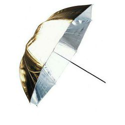 Linkstar Umbrella PUK-84GB Gold Black 100cm (reversible) studijski foto kišobran