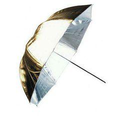 Linkstar Umbrella PUK-84GS Silver Gold 100cm (reversible) studijski foto kišobran