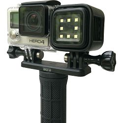 Litra Double Mount for Torch Light and GoPro Camera dvostruki nosač za akcijsku kameru i LED lampu (T22DM)