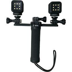 Litra Triple Mount for Two Torch Lights and GoPro Camera trostruki nosač za akcijsku kameru i LED lampe (T22TM)