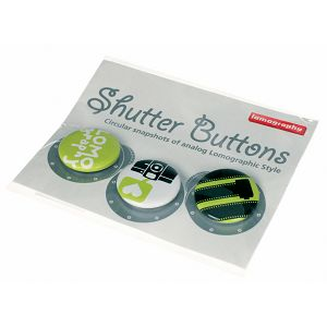Lomography Button Set 1 *green* Z501