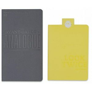 Lomography ChapBook - Set 3 (grey+yellow) d900s3 stationary