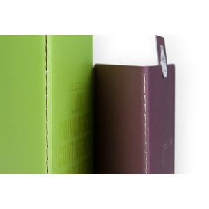 Lomography ChapBook - Set 4 (green+bordeaux) d910s4 stationary