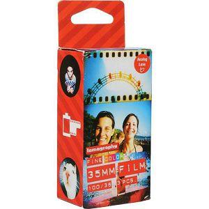 Lomography CN 100 ASA 3 pcs F3361 35mm film za fotoaparat CN-100 CN100 - BLACK FRIDAY