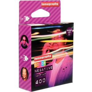 Lomography Color Negative 400/120 3 pcs F4120C3 120mm film za fotoaparat