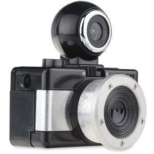 Lomography Fisheye Baby 110 Metal Black FCP110BM analogni fotoaparat na film - LOMO PROMO