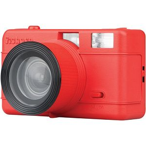 Lomography Fisheye Compact Camera Red FCP100RED