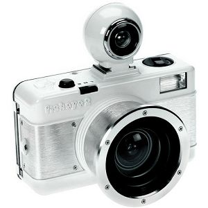 Lomography Fisheye2 White Knight FCP200W