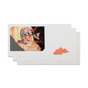 Lomography Freundschaftskarten - Landscape 1  (orange) d930ls1 stationary