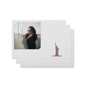 Lomography Freundschaftskarten - Square 2 (brown) d930sq2 stationary