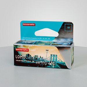 Lomography LomoChrome Turquoise XR 100-400 ASA Single pack F1120TQ1 120 format film za fotoaparat