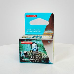 Lomography LomoChrome Turquoise XR 100-400 ASA Single pack F136TQ1 35mm film za fotoaparat