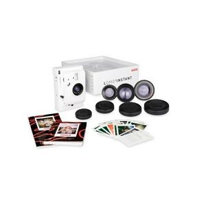 Lomography Lomo'Instant White + 3 Lenses LI800W polaroidni fotoaparat - BLACK FRIDAY