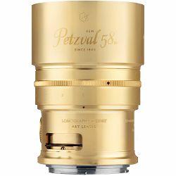 Lomography Petzval 58mm f/1.9 Bokeh Control Art Lens Brass objektiv za Nikon FX (Z260N)