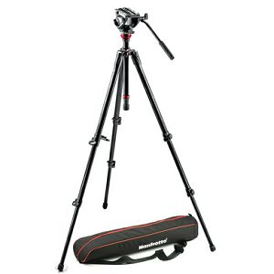 Manfrotto 500 MDEVE ALU VIDEO SYSTEM MVH500AH,755XBK NORD - Video 500 MDEVE ALU VIDEO SYSTEM