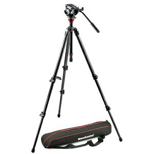 Manfrotto 500 MDEVE CARBON VIDEO SYSTEM MVH500AH,755CX3 NORD - Video 500 MDEVE CARBON VIDEO SYSTEM