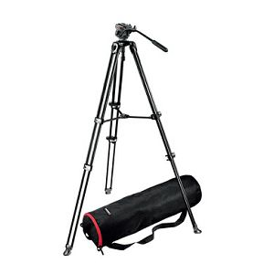 Manfrotto KIT VIDEO TELESCOPIC TWIN LEG 701HDV,MVT502AM NORD - Video KIT VIDEO TELESCOPIC TWIN LEG