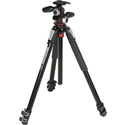 Manfrotto MK055XPRO3-3W Aluminum Tripod with 3-Way Pan/Tilt Head kit stativ + glava MHXPRO-3W X-PRO 3-Way Head