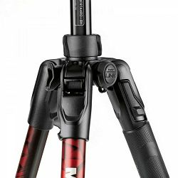 Manfrotto MKBFRLA4RD-BH Befree 150cm 8kg Red Advanced Twist Locks Travel Aluminum Tripod crveni aluminijski stativ s 494 Center ball head kuglastom glavom