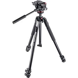 Manfrotto MK190X3-2W 170cm 4kg aluminijski stativ za fotoaparat i kameru + XPRO-2W fluidna video glava