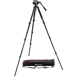 Manfrotto MVK502AQ Video stativ set Spreaderless Video Tripod with MVH502A Fluid Head