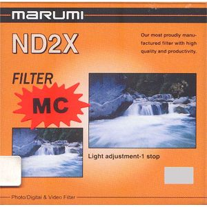 Marumi ND2 filter Neutral Density 49mm ND2X (1 blenda) Standard