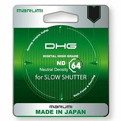 Marumi ND64 DHG ND Grey filter Neutral Density 62mm ND64X (6 blendi)