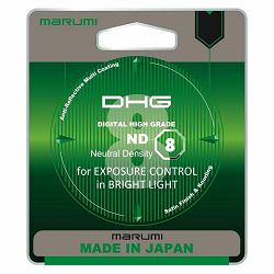 Marumi ND8 DHG ND Grey filter Neutral Density 49mm ND8X (3 blende)